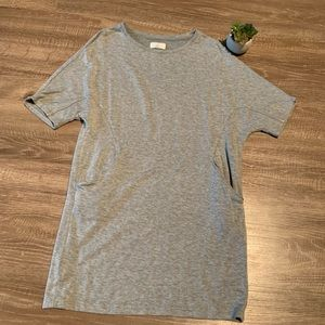 Lou & Gray Grey T Shirt Dress